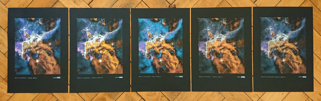 Limited Edition of 5 Mystic Mountain in the Carina Nebula