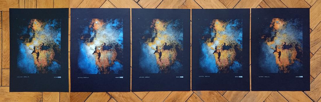 Limited Edition of 5 Lagoon Nebula