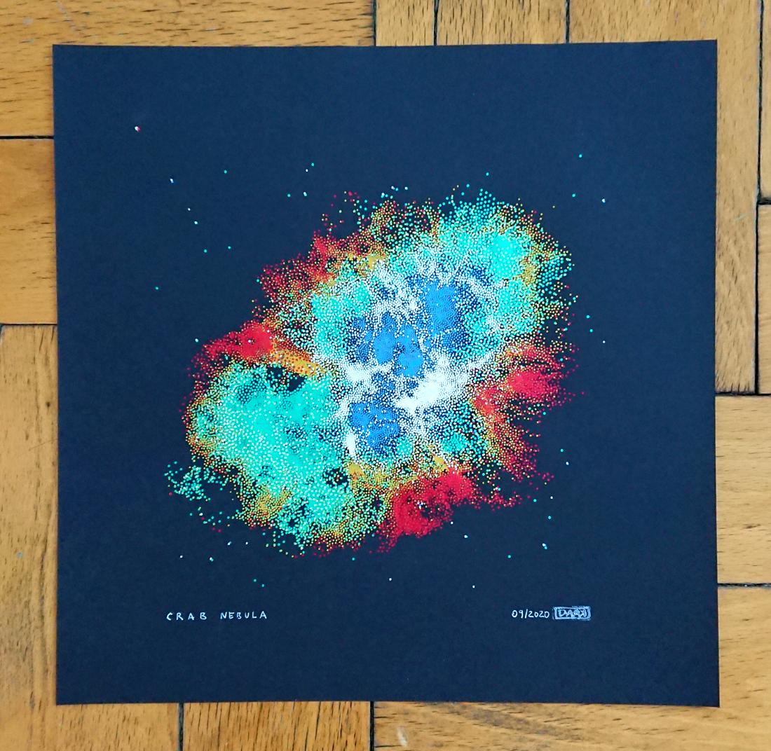 Crab Nebula - unique piece